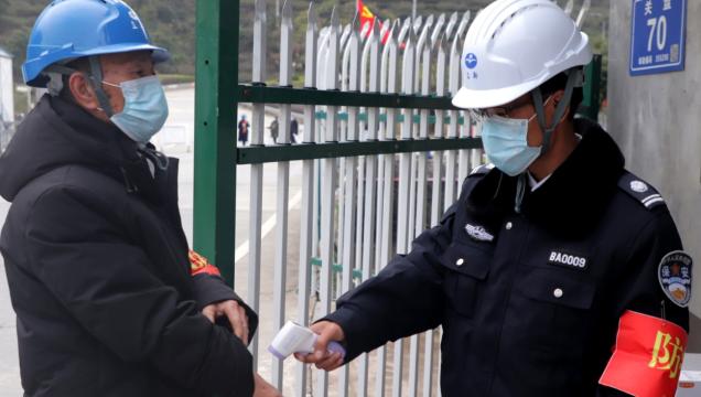 福鼎:筑牢防疫网 企业复工有保障